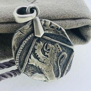 David Yurman Shipwreck Mens Coin Amulet